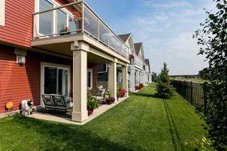 Photo 48: 15 8132 217 Street in Edmonton: Zone 58 House Half Duplex for sale : MLS®# E4180149