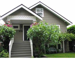 Photo 1: 3181 W 10TH Avenue in Vancouver: Kitsilano House for sale (Vancouver West)  : MLS®# V651439