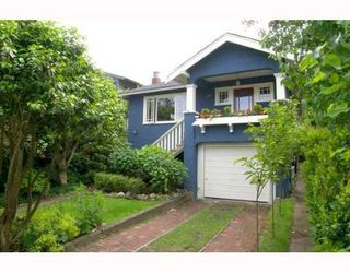 Photo 1: 4570 BELMONT Avenue in Vancouver: Point Grey House for sale (Vancouver West)  : MLS®# V653879