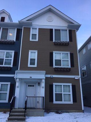 Photo 1: 104 903 Crystallina Nera Way in Edmonton: Zone 28 Townhouse for sale : MLS®# E4181345