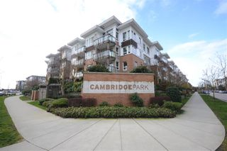 "Main Photo: 217 9500 ODLIN Road in Richmond: West Cambie Condo for sale in ""CAMBRIDGE PARK"" : MLS®# R2438044"
