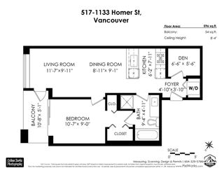 """Photo 22: 517 1133 HOMER Street in Vancouver: Yaletown Condo for sale in """"H & H"""" (Vancouver West)  : MLS®# R2484274"""