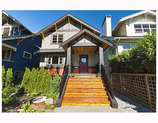 Photo 1: 3259 W 2ND Avenue in Vancouver: Kitsilano House 1/2 Duplex for sale (Vancouver West)  : MLS®# V682512