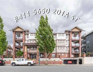 """Photo 1: 411 5650 201A Street in Langley: Langley City Condo for sale in """"Paddington Station"""" : MLS®# R2465928"""