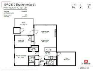 Photo 23: 107 2330 SHAUGHNESSY STREET in Port Coquitlam: Central Pt Coquitlam Condo for sale : MLS®# R2487509