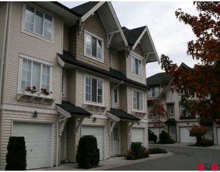 "Main Photo: 55 20540 66TH Avenue in Langley: Willoughby Heights Townhouse for sale in ""Amberleigh"" : MLS®# F2727587"