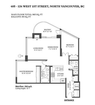 "Photo 29: 405 124 W 1ST Street in North Vancouver: Lower Lonsdale Condo for sale in ""Q"" : MLS®# R2458347"