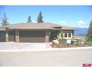 "Photo 1: 171 51075 FALLS Court in Chilliwack: Eastern Hillsides House for sale in ""EMERALD RIDGE"" : MLS®# H2702213"