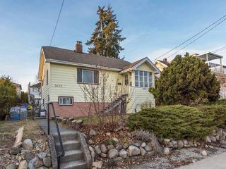 Main Photo: 1805 EIGHTH Avenue in New Westminster: West End NW House for sale : MLS®# R2399999