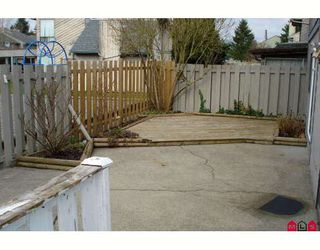 "Photo 6: 190 32550 MACLURE Road in Abbotsford: Abbotsford West Townhouse for sale in ""CLEARBROOK VILLAGE"" : MLS®# F2805989"