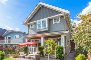 Photo 1: 1751 E 2ND AVENUE in Vancouver: Grandview Woodland 1/2 Duplex for sale (Vancouver East)  : MLS®# R2463595
