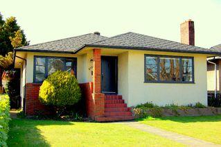 Photo 1: 5767 SOPHIA Street in Vancouver: Main House for sale (Vancouver East)  : MLS®# V697885