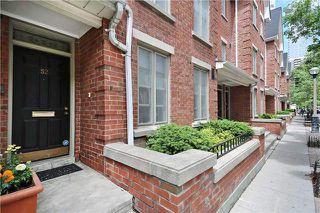 Photo 3: 52 St Nicholas St, Toronto, Ontario M4Y1W7 in Toronto: Condominium Townhome for sale (Bay Street Corridor)  : MLS®# C3518917
