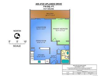 Photo 2: 405 4720 Uplands Dr in : Na North Nanaimo Condo for sale (Nanaimo)  : MLS®# 859624