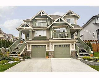 "Photo 1: 103 FOREST PARK Way in Port_Moody: Heritage Woods PM House 1/2 Duplex for sale in ""ADVENTURE RIDGE"" (Port Moody)  : MLS®# V706789"