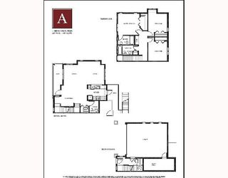 """Main Photo: 12 1211 EWEN Avenue in New_Westminster: Queensborough Townhouse for sale in """"ALEXANDER WALK"""" (New Westminster)  : MLS®# V679917"""