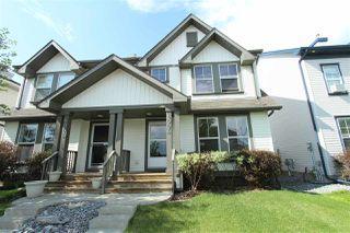 Photo 1: 6004 SOUTH TERWILLEGAR Boulevard in Edmonton: Zone 14 House Half Duplex for sale : MLS®# E4183988