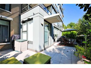 Photo 1: # 106 1483 W 7TH AV in Vancouver: Fairview VW Condo  (Vancouver West)  : MLS®# V848899