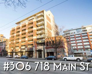 "Photo 1: 306 718 MAIN Street in Vancouver: Strathcona Condo for sale in ""GINGER"" (Vancouver East)  : MLS®# R2406118"