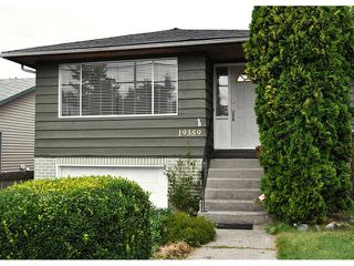 Photo 1: 19359 HAMMOND RD in Pitt Meadows: Central Meadows House for sale : MLS®# V904549
