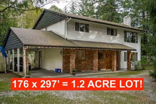 Main Photo: 2350 170 Street in Surrey: Pacific Douglas House for sale (South Surrey White Rock)  : MLS®# R2426011