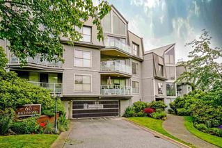 "Photo 1: 105 60 RICHMOND Street in New Westminster: Fraserview NW Condo for sale in ""GATEHOUSE PLACE"" : MLS®# R2481773"