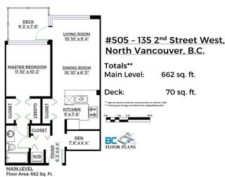 """Photo 20: 505 135 W 2ND Street in North Vancouver: Lower Lonsdale Condo for sale in """"CAPSTONE"""" : MLS®# R2435181"""