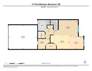 Photo 48: 111 RUE MONIQUE: Beaumont House Half Duplex for sale : MLS®# E4210162