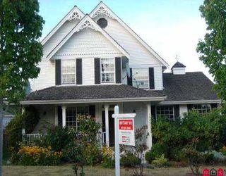 Photo 1: 16807 80TH AV in Surrey: Fleetwood Tynehead House for sale : MLS®# F2512916