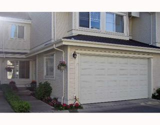 "Photo 1: 76 17097 64TH Avenue in Surrey: Cloverdale BC Townhouse for sale in ""Kentucky Lane"" (Cloverdale)"