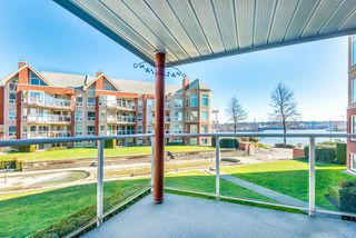"Photo 3: 208 1230 QUAYSIDE Drive in New Westminster: Quay Condo for sale in ""Tiffany Shores"" : MLS®# R2432289"