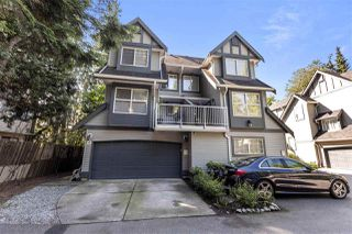 """Photo 1: 4 2994 COAST MERIDIAN Road in Port Coquitlam: Birchland Manor Townhouse for sale in """"Meridian Park"""" : MLS®# R2493512"""