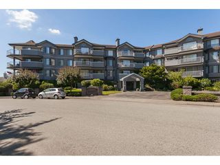 "Photo 1: 201 5375 205 Street in Langley: Langley City Condo for sale in ""Glenmont Park"" : MLS®# R2482379"