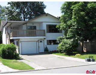 Photo 1: 32548 ORIOLE in Abbotsford: Abbotsford West House for sale : MLS®# F2717960