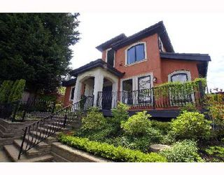 Photo 1: 3477 BLENHEIM Street in Vancouver: Dunbar House for sale (Vancouver West)  : MLS®# V710168