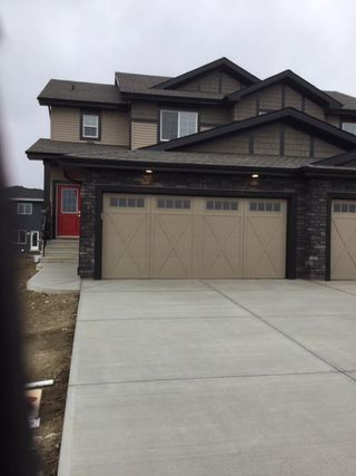 Photo 1: 9318 Pear Link SW in Edmonton: Zone 53 House Half Duplex for sale : MLS®# E4169248