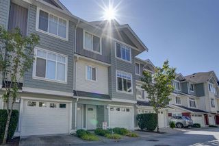 "Photo 1: 50 19480 66 Avenue in Surrey: Clayton Townhouse for sale in ""TWO BLUE II"" (Cloverdale)  : MLS®# R2490979"