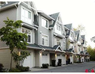 """Main Photo: 19 6450 199TH Street in Langley: Willoughby Heights Townhouse for sale in """"Logans Landing"""" : MLS®# F2710390"""