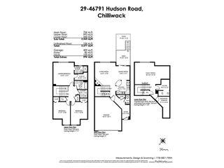 "Photo 20: 29 46791 HUDSON Road in Sardis: Promontory Townhouse for sale in ""Walker Creek"" : MLS®# R2405571"