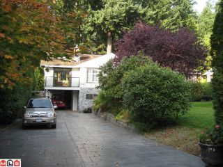Photo 2: 13083 24TH AV in Surrey: Elgin Chantrell House for sale (South Surrey White Rock)  : MLS®# F1125777