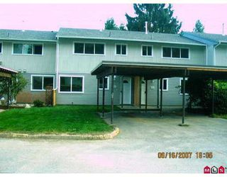 """Photo 1: 102 45185 WOLFE Road in Chilliwack: Chilliwack W Young-Well Townhouse for sale in """"TOWNSEND GREENS"""" : MLS®# H2704298"""
