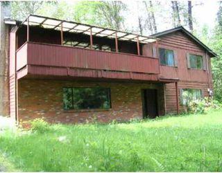 Main Photo: 11231 284TH Street in Maple_Ridge: Whonnock House for sale (Maple Ridge)  : MLS®# V681250