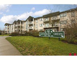 "Photo 1: 202 13911 70TH Avenue in Surrey: East Newton Condo for sale in ""Canterbury Green"" : MLS®# F2800375"