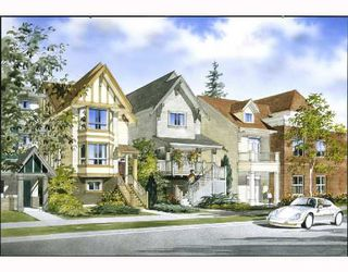 """Main Photo: 13 1211 EWEN Avenue in New_Westminster: Queensborough Townhouse for sale in """"ALEXANDER WALK"""" (New Westminster)  : MLS®# V686703"""