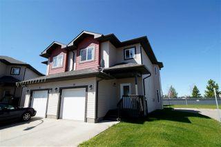 Photo 1: 10 16004 54 Street in Edmonton: Zone 03 House Half Duplex for sale : MLS®# E4168188