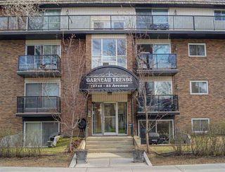 Photo 1: 105 10745 83 Avenue in Edmonton: Zone 15 Condo for sale : MLS®# E4196456