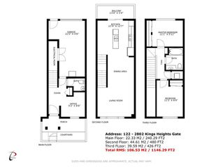 Photo 23: 122 2802 Kings Heights Gate SE: Airdrie Row/Townhouse for sale : MLS®# A1041421