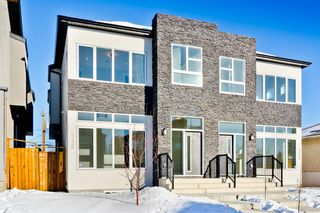 Main Photo: 4126 7 Avenue SW in Calgary: Rosscarrock Semi Detached for sale : MLS®# A1058820