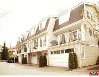 "Photo 1: 59 8930 WALNUT GROVE Drive in Langley: Walnut Grove Townhouse for sale in ""Highland Ridge"" : MLS®# F2709012"