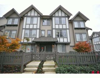 "Photo 1: 75 20038 70TH Avenue in Langley: Willoughby Heights Townhouse for sale in ""DAYBREAK"" : MLS®# F2924985"